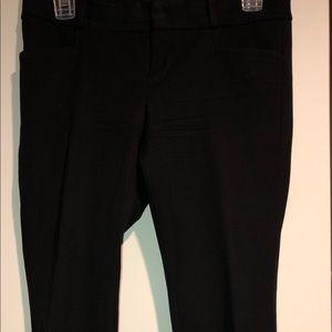 Black Banana Republic Straight Cut Pants